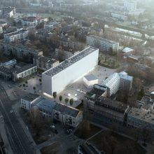 S. Eidrigevičiaus menų centrui Panevėžyje Vyriausybė numatė beveik 5 mln. eurų