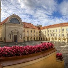 Visuomenei atveriami Vilniaus universiteto senamiesčio ansamblio kiemeliai