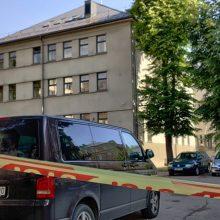 Kauno apygardos teismas dėl melagingo pranešimo nedirbo pustrečios valandos