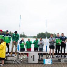 Prasidėjusiame Lietuvos čempionate – trys kanojininko H. Žustauto aukso medaliai