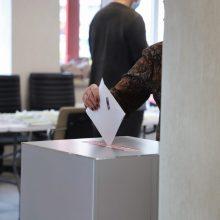 Radviliškio gyventojai renka naują merą: jau balsavo 14,82 proc. rinkėjų