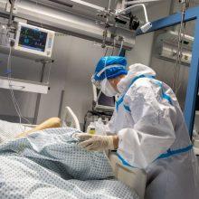 Nauji COVID-19 atvejai: liepsnoja židiniai ligoninėse, 215 užsikrėtimo aplinkybės – nežinomos