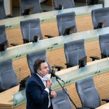 Seimas panaikino P. Gražulio teisinę neliečiamybę