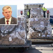 J. Narkevičius: dėl medicinos apsaugos priemonių pasaulyje vyksta kova