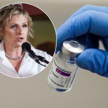 """R. Vanagaitė antra """"AstraZenecos"""" vakcinos doze pasiskiepijo anksčiau: pati terminą susitrumpinau"""