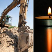 Skaudi nelaimė Molėtų rajone: po nuošliauža žuvo vyras