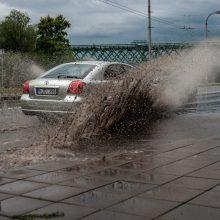 Sinoptikai įspėja: stiprus lietus nuo Marijampolės judės Kauno link ir keliaus toliau