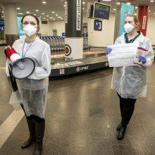 Vilniuje nusileido specialus lėktuvas iš Londono