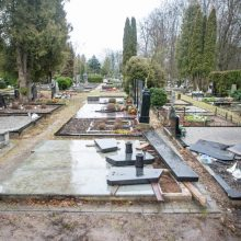 Seniavos kapinių išniekinimas: įtariamasis – pradedantis vairuotojas iš Aleksoto