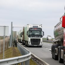 Ukrainietis vairuotojas pasigailėjo susidėjęs su lietuviška profsąjunga