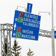Pasienyje su Lenkija eilių nėra, su Baltarusija – trumpėja
