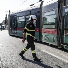 Prancūzijoje mirė vairuotojas, užpultas į autobusą neįleistų keleivių be kaukių