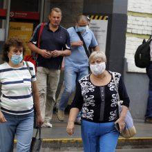 Ukrainoje trečią parą iš eilės nustatoma daugiau kaip tūkstantis COVID-19 atvejų