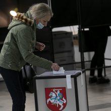 Koronaviruso fone lietuviai grįžo prie balsadėžių: renkamas naujas Seimas