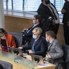 Nepaisant karantino, parlamentinei veiklai Seimo nariai išleido per ketvirtį milijono eurų