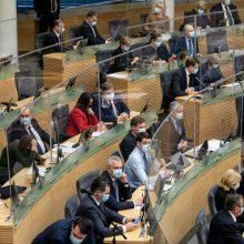 Seimą pasiekė naujas projektas, kad ES piliečiai galėtų Lietuvoje steigti partijas
