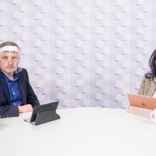 Gražvydas Muižys <span style=color:red;>(iš kairės)</span> ir dr. Gerda Žigienė