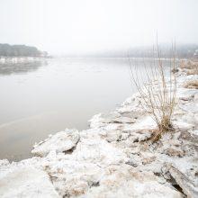 Grėsmė tolsta: Neryje vanduo nebekyla, potvynio nenusimato