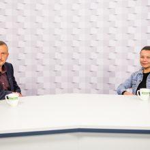 Gražvydas Muižys <span style=color:red;>(iš kairės)</span> ir Viktorija Kolbešnikova