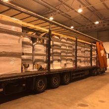 Kauno apylinkėse įkliuvo baltarusis – vežė kontrabandą už beveik 2 mln. eurų