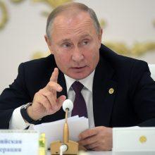 V. Putinas: Maskvoje juntama grėsmė dėl NATO artėjimo prie Rusijos sienų