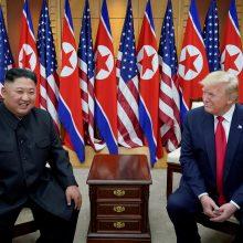 Pchenjanas įspėja JAV nesikišti į Korėjos pusiasalio vidaus reikalus