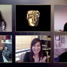 """BAFTA apdovanojimų ceremonijoje geriausiu filmu pripažinta drama """"Klajoklių žemė"""""""