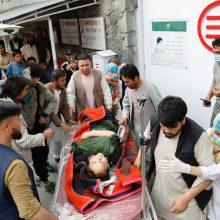 Kabule per sprogimą prie mokyklos žuvo 25 žmonės, 52 sužeisti