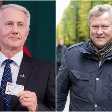 Petrašiūnų-Gričiupio apygarda Seimo nario mandatą patikėjo K. Starkevičiui