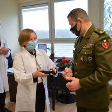 Kauno ligoninė nuo šiol – išvien su šauliais
