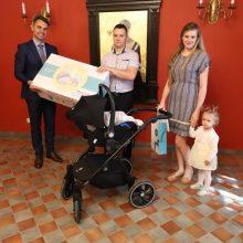 600 asis Kauno rajono kūdikis – Adas iš Giraitės