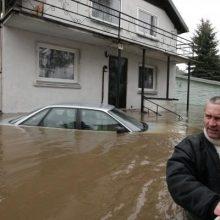 Prie Neries – įtampa dėl potvynio: kada jo galima tikėtis?