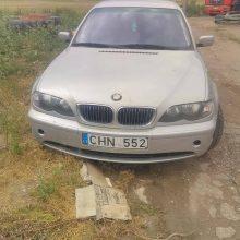 Iš kauniečių šeimos pavogti du BMW – už naudingą informaciją bus atlyginta
