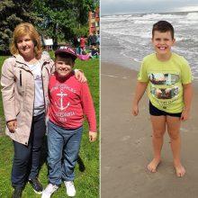 Autistą sūnų auginanti mama: visad išėjus į viešumą bijau, kad mums iškvies policiją