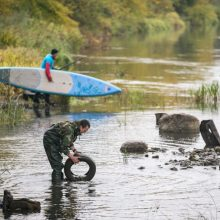 Lietuvoje antrą kartą bus švarinamos upės ir jų pakrantės