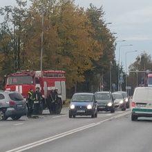 Avarija prie Garliavos: prireikė ugniagesių ir medikų pagalbos
