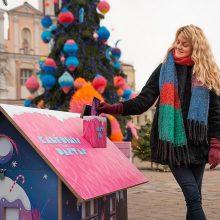 Rotušės aikštėje startuoja kalėdinis paštas