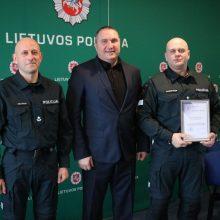 Apdovanoti geriausi Kauno policijos sportininkai: nieko nėra neįmanomo!