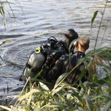Vilniuje ežere rastas nuskendęs vyras