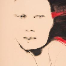 A. Kleizaitės piešinių parodoje – estetiniai ieškojimai