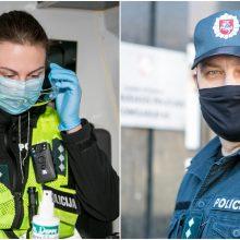 Kauno policija kovoja ne tik su virusu: didžiausi iššūkiai ir pokyčiai per karantiną