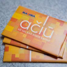 """""""Maxima"""" kviečia jungtis prie AČIŪ lojalumo programos: kortelės privalumais jau naudojasi milijonai"""