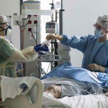 Neramu: LSMU Kauno ligoninėje gali pritrūkti COVID-19 pacientus gydančių medikų