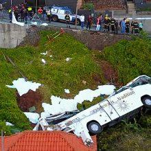 Madeiroje per autobuso avariją žuvo 29 vokiečių turistai
