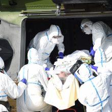 Visame pasaulyje užregistruota per 600 tūkst. užsikrėtimo koronavirusu atvejų
