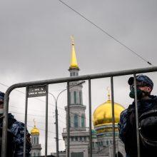 Maskva nuo kitos savaitės pradės švelninti dėl koronaviruso įvestus apribojimus
