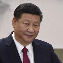 Xi Jinpingas: Kinija neatsisako užmojų jėga susigrąžinti Taivaną