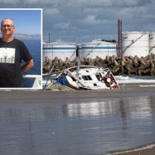 Jachtos katastrofa: dukra meldžia padėti surasti dingusį tėvą
