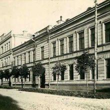 Istorija: Tvirtovės štabo pastate 1919 m. įsikūrė valstybingumą atkūrusios respublikos Žemės ūkio ministerija. Nuotraukoje – 1937-ieji.