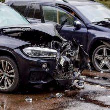 Masinė avarija sostinėje: kaltininkas pripūtė daugiau nei keturias promiles